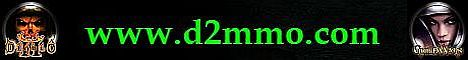 www.d2mmo.com - Your Guild Wars & Diablo 2 Store Banner