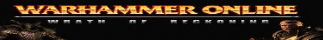Warhammer Online:Wrath of Reckoning Banner