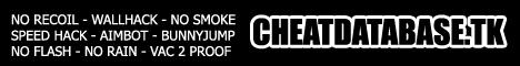 cheat database cs 1.6 & cs source Banner