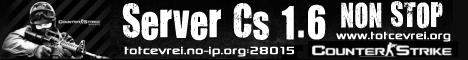 totcevrei.zapto.org Server CS 1.6 Banner