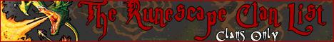 The Runescape Clan List Banner