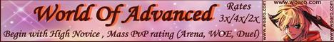 World of Advanced Banner
