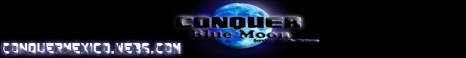Conquer Blue Moon Banner
