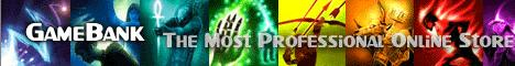 Guild Wars gold, GW items,Ecto For sale-100%safe delivery~GameBank.biz Banner