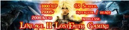 ..::][Lost Faith MMoRPG Gaming Network C5/Interlude][::.. Banner