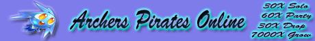 Archers Pirates Online Banner