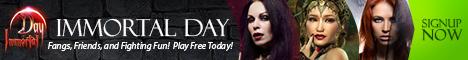 Immortal Day - Werewolf Games Banner