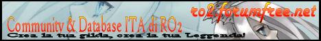 Forum e Community Italiana di Ragnarok 2 Banner