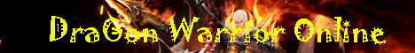 DraGoN Warrior Online Banner