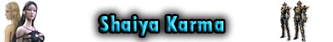 Shaiya Karma Banner