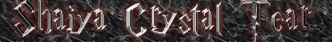 Shaiya Crystal Tear Banner