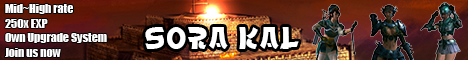 Sora Kal:: We Are back Onine!!! Banner