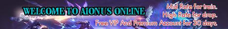 AIONUS ONLINE CLIENT 4.9.1 FULL SUPPORT Banner