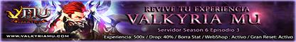 Valkyria Mu - Season 6 Episodio 3 Banner