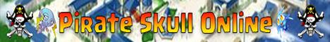 Pirate Skull Online Banner