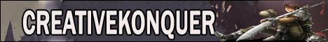 CreativeKonquer Just Imagine Banner