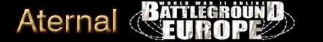 Aternal Battleground Europe: WWII Banner