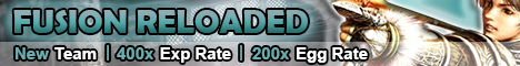 Fusion Kal Reloaded - 125+ Players Online ! Banner