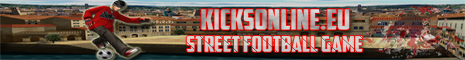 Kicks Online || Street Football Game Banner