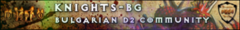 Knights-BG - Quality Diablo II Server Banner