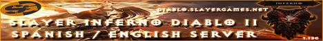 Slayer Inferno Diablo II Banner