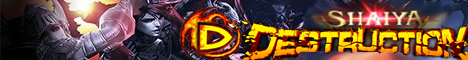 Shaiya Destruction Banner