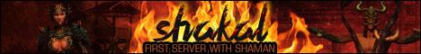 SHAKAL - KALONLINE SERVER WITH SHAMAN [ONLINE] Banner
