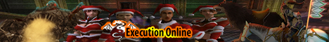 Execution Online Start Level 50[ With Santa Gift] G70&G75 During Event Banner